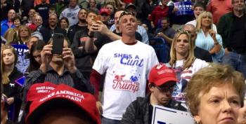 Trump Supporters Behaving Badly, Part Gobzillion