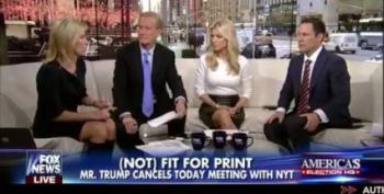 Fox Pundits Impressed By Trump's Transparency, Cooperation