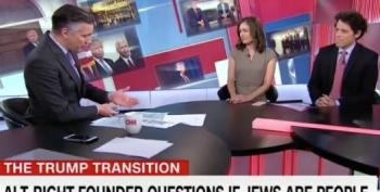 Jake Tapper Annoyed His Show Ran A Chyron Questioning If Jews Were People
