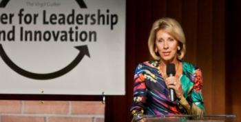Betsy DeVos Tapped For Secretary Of Education