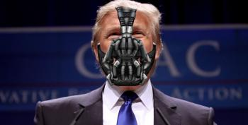 John Podesta: Trump's Closing Ad Looks Straight Out Of A Batman Movie