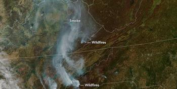 Climate Change And The Southeastern Fires