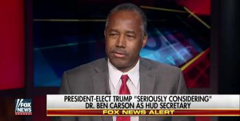 Dr. Ben Carson's Terrifying 'Qualifications' To Serve As HUD Secretary