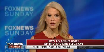 Kellyanne Conway Issues A Dark, Fascistic Warning To Harry Reid