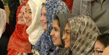 Solidarity: High School Students Wear Hijab To Show Support For Muslim Classmates