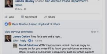 Texas Judge 'Apologizes' For 'Time For A Tree And A Rope' Facebook Comment