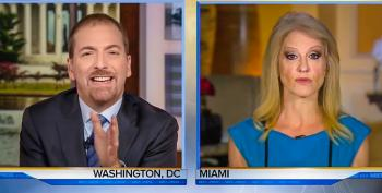 Chuck Todd Rips Conway For Dodging Questions: 'Every Knee-Jerk Push Back' Is 'Blame The Media'