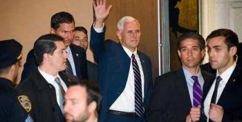 Mike Pence Booed At Hamilton, Cast Sends Special Message