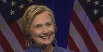 Video: Hillary Clinton Gave A Poignant, Moving, Amazing Speech Tonight