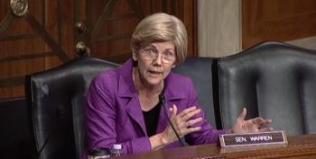 Elizabeth Warren Roars Over Possible CFPB Dissolution, Steve Bannon's Appointment