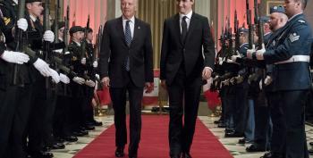 Joe Biden: World Will Look To Trudeau/Merkel For Leadership