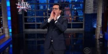 Stephen Colbert Congratulates Russia's Cold War Victory