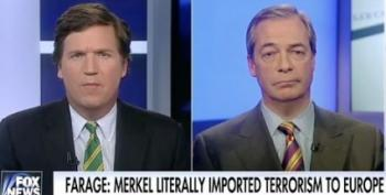 Faux Populi: Tucker Carlson Hosts Loser Nigel Farage To Praise Russia