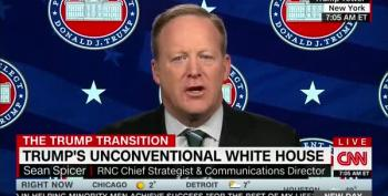 Spicer Says 'Transparent' Trump Is Too Busy For Press Conferences