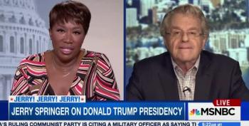 Jerry Springer Calls Out NBC For Conflict Of Interest With Trump