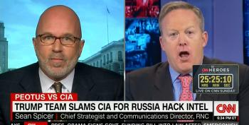 RNC's Sean Spicer Goes Nuts Over Russia Hacking Election Stories