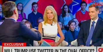 Kellyanne Conway Defends Trump's Shameful Tweets: 'He's President-Elect So That's Presidential'