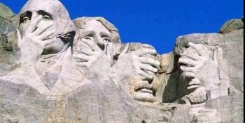 Open Thread - Hey Donald, Check Out Mount Rushmore!
