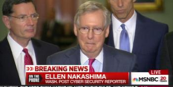 McConnell Covered Up CIA Reports That Russian Hacks Were Aimed At Electing Trump