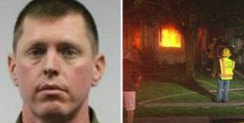Firefighter Charged With Arson, Blames Black Lives Matter