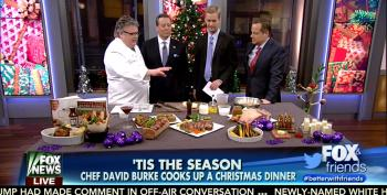 Fox Promotes Trump Hotel Steakhouse For Christmas