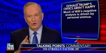 O'Reilly Attacks Colleague George Will Again, This Time For Criticizing Trump's Carrier Deal