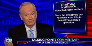 O'Reilly Launches His Christmas 'Clean-Up Operation' To Make Meanness The Reason For The Season