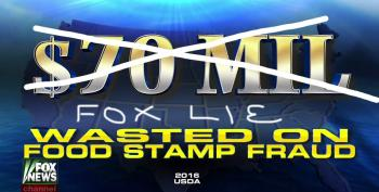 Fox News Lies About Food Stamp Fraud: UPDATED