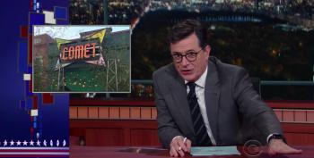 Colbert Slices Up Pizzagate, Mike Flynn, And Alex Jones