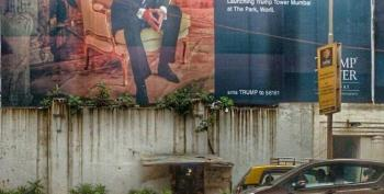 Open Thread - Trump Poster And Income Inequality In Mumbai
