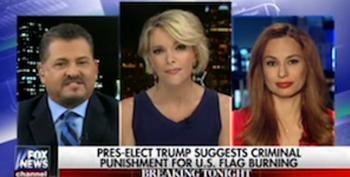 Trump Surrogate Looks Forward To Supreme Court Criminalizing Flag Burning