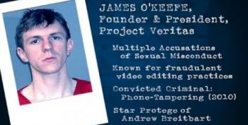 Disgraced Ambush Filmmaker O'Keefe Gets Owned By Progressive Group