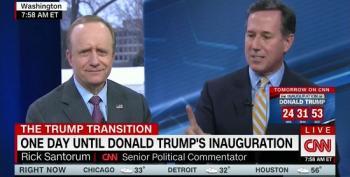 Santorum: 'Trail Of Breadcrumbs Means It's Not Russian Hacking'