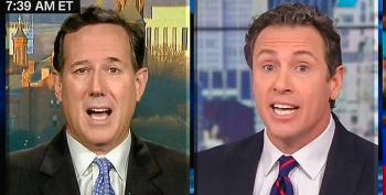 'It's A Dangerous Lie': Chris Cuomo Destroys Santorum's Voter Fraud Myth With Basic Journalism