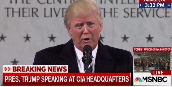 U.S. Gov't Sources: Trump's CIA Speech 'Made Relations With Intel Community Worse'