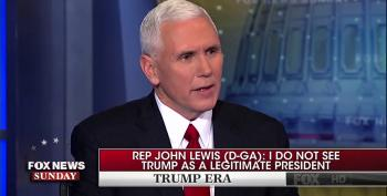 Mike Pence Defends Trump Attacks On John Lewis By Attacking Lewis Some More