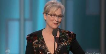 Open Thread:  Meryl Streep's Amazing Golden Globe Speech