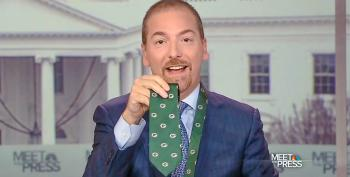 Chuck Todd Shuts Down Talk On Trump's Ethics -- But Finds Time For His 'The Apprentice' Tweets