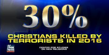 Fox 'News' Distorts Data To Advance 'Radical Islamic Terrorist' Meme