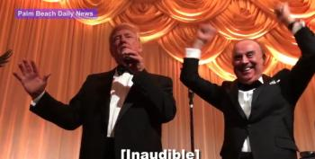 Watch Trump's New Year's Eve Guests Roar When He Promises To Repeal ACA