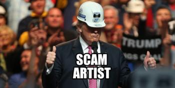 Trump's Infrastructure 'Plan' Is Another Tax Giveaway For The Rich