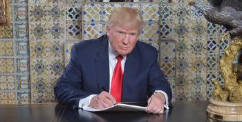 Decoding Trump's Bizarre Inaugural Speechwriting Photo
