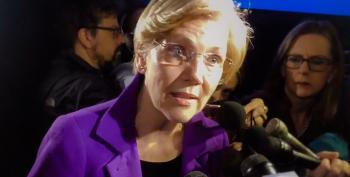 Elizabeth Warren Defends John Lewis' Record: 'Trump Hasn't Put His Life On The Line For Anyone'