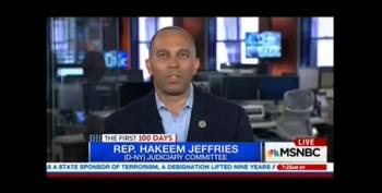 Rep. Jeffries: 'Steve Bannon Is A Stone Cold Racist,' But So Is Trump