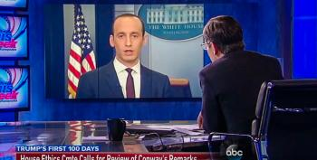Stephen Miller: 'Sean Spicer, As Always, Is 100 Percent Correct'