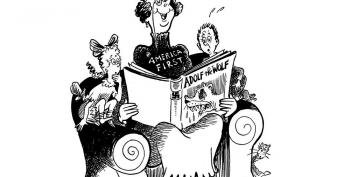 Dr. Seuss Cartoon Proves 'America First' Is Heartless Fascism