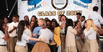 Watch Ellen Surprise Graduating Class With Free Scholarships