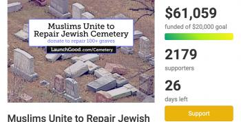 Muslims Raise Over 70K To Restore Vandalized Jewish Cemetery