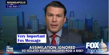 Pete Hegseth Launches Unhinged Attack Against Somali Community