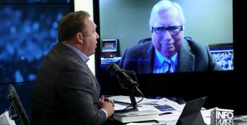 The Conspiracy Bureau: Alex Jones Teams Up With Jerome Corsi For White House Coverage